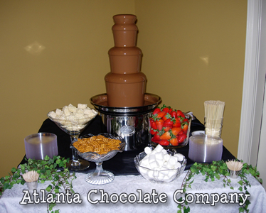 Atlanta Chocolate Fountain Rental Chocolate Fondue Fountain