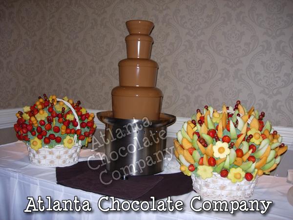 Atlanta Chocolate Fountain Rental | Chocolate Fondue Fountain
